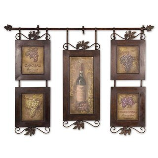 Uttermost Grace Feyock 'Hanging Wine' Framed Art - Brown