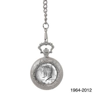 American Coin Treasures Year To Remember Half Dollar Coin Pocket Watch|https://ak1.ostkcdn.com/images/products/7918211/7918211/American-Coin-Treasures-Year-To-Remember-Half-Dollar-Coin-Pocket-Watch-P15295687.jpg?impolicy=medium