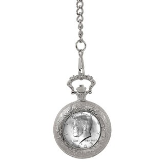 American Coin Treasures Year To Remember Half Dollar Coin Pocket Watch