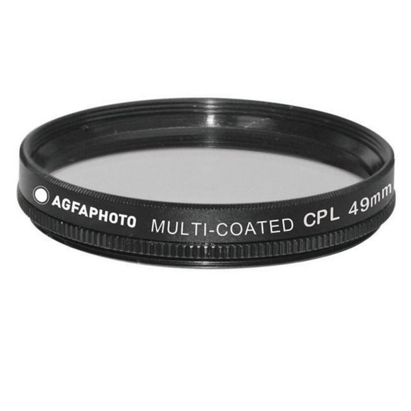Agfa 49mm Digital Multi-Coated Circular Polarizing (CPL) Filter APCPF49