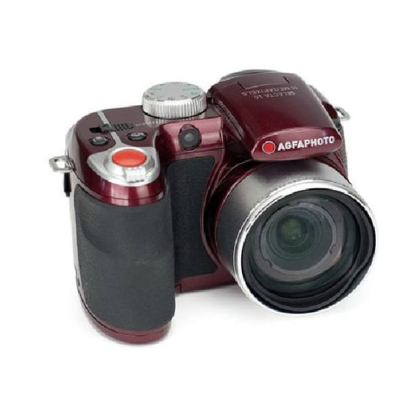 Agfa Photo Selecta 16 Burgundy 16 MP Digital Camera with 15x Optical Zoom