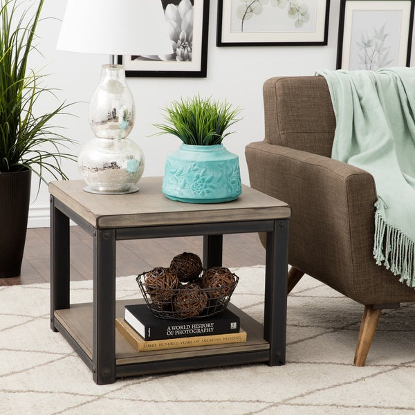 Shop Carbon Loft Heritage End Table Free Shipping Today