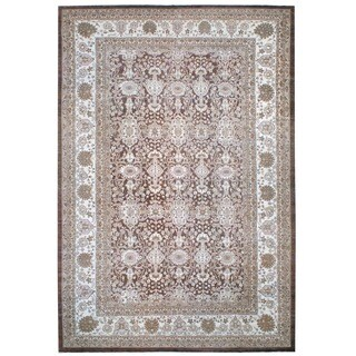 Herat Oriental Afghan Hand-knotted Vegetable-dyed Wool Rug (11'9 x 17'8)