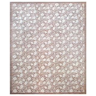 Herat Oriental Afghan Hand-knotted Vegetable-dyed Wool Area Rug (12'8 x 15'3)