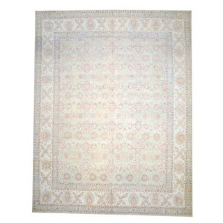 Herat Oriental Afghan Hand-knotted Vegetable-dyed Wool Rug (13'6 x 17'5)