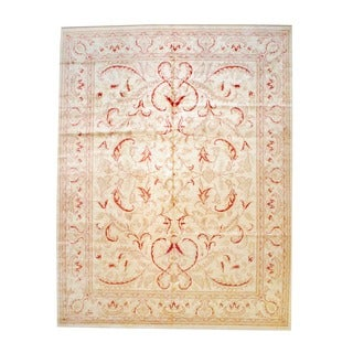 Herat Oriental Afghan Hand-knotted Vegetable-dyed Wool Rug (11'6 x 14'8)