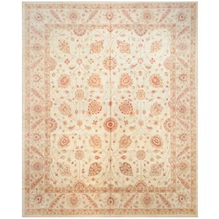 Herat Oriental Afghan Hand-knotted Vegetable-dyed Wool Rug (12' x 14'8)