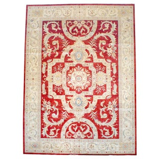 Herat Oriental Afghan Hand-knotted Vegetable-dyed Wool Rug (11'7 x 15'9)