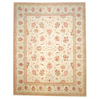 Herat Oriental Afghan Hand-knotted Vegetable-dyed Wool Rug (11'9 x 15')