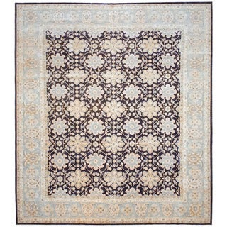 Herat Oriental Afghan Hand-knotted Vegetable-dyed Wool Rug (12'1 x 13'9)