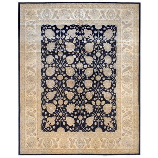 Herat Oriental Afghan Hand-knotted Vegetable-dyed Wool Rug (12'4 x 15')