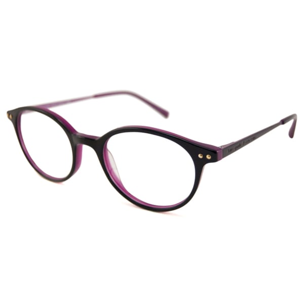 Kate Spade Readers Women's Cosette Oval Black/Violet Reading Glasses