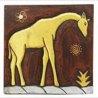 Handmade 'Giraffe' Wall Panel (Indonesia)