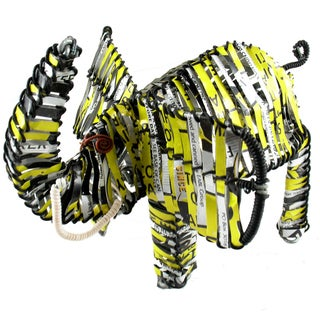 Elephant Recycled Tin Can (Kenya)