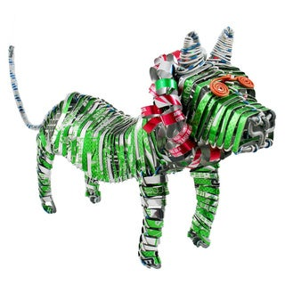 Handmade Recycled Tin Can Lion (Kenya)