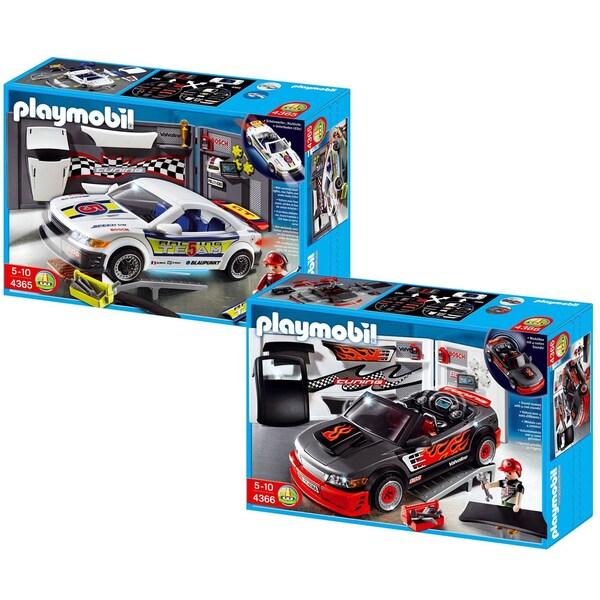 Playmobil Car Repair Shop Sports/ Race Car