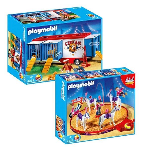 Playmobil Circus Animal Horse Act/ Trailer