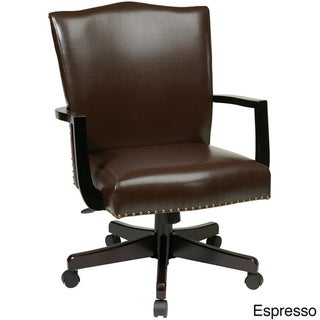 Inspired by Bassett Morgan Bonded Leather Office Chair