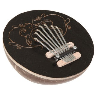 Gecko Coconut Kalimba Thumb Piano (Indonesia)