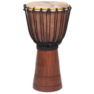 Handmade Jammer Djembe Drum, Small (Indonesia)
