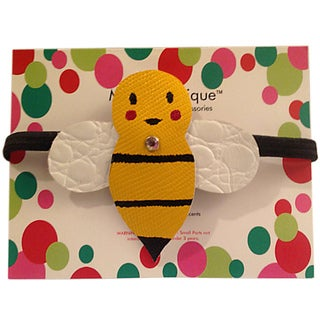 Mini e Boutique Bumblebee Leather Headband