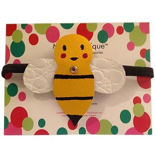 Mini e Boutique Bumblebee Leather Headband