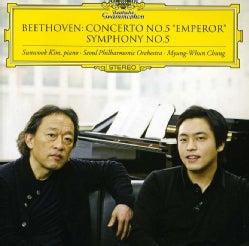 "MYUNG-WHUN CHUNG,SEOUL PHILHARMONIC SUNWOOK KIM - ""BEETHOVEN: PIANO CONCERTO NO.5 """"EMPEROR"""" SYMPHO"