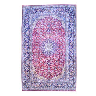 Herat Oriental Persian Hand-knotted Isfahan Wool Rug (9'6 x 15'3)|https://ak1.ostkcdn.com/images/products/7920163/P15297448.jpg?impolicy=medium