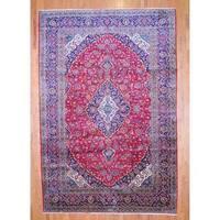 Handmade Herat Oriental Persian Kashan Wool Rug  - 10' x 15' (Iran)