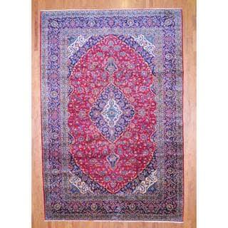 Herat Oriental Persian Hand Knotted Kashan Wool Rug 10 X 15