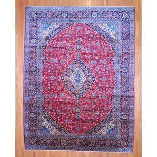 Herat Oriental Persian Hand-knotted Kashan Wool Area Rug (11'3 x 15')