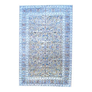 Herat Oriental Persian Hand-knotted Kashan Wool Area Rug (10' x 15')