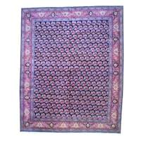 Herat Oriental Persian Hand-knotted Bidjar Wool Area Rug - 13' x 16'