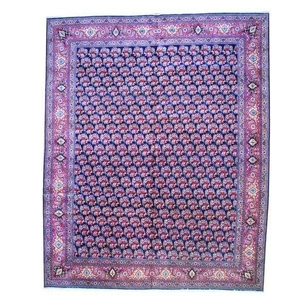 Shop Herat Oriental Persian Hand Knotted Bidjar Wool Area Rug 13 X