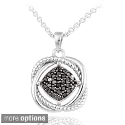 DB Designs Sterling Silver 1/3ct TDW Diamond Love Knot Necklace (Option: Yellow)|https://ak1.ostkcdn.com/images/products/7920205/DB-Designs-Sterling-Silver-1-3ct-TDW-Diamond-Love-Knot-Necklace-P15297471.jpg?impolicy=medium