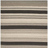 Safavieh Handwoven Moroccan Reversible Dhurrie Natural Wool Area Rug - 6' x 6' Square
