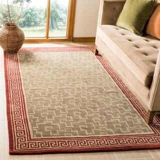 Martha Stewart by Safavieh Byzantium Sealing Wax Wool Rug (4'x 6')