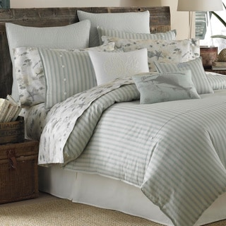 Shop Tommy Bahama Surfside Stripe 4 Piece Comforter Set