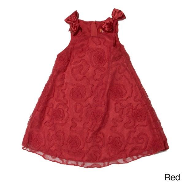 Funkyberry Girls Sleeveless Mesh Dress