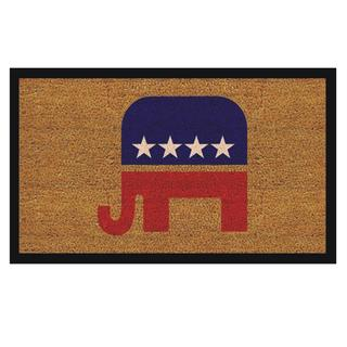 Republican Elephant Doormat (1'5 x 2'5)