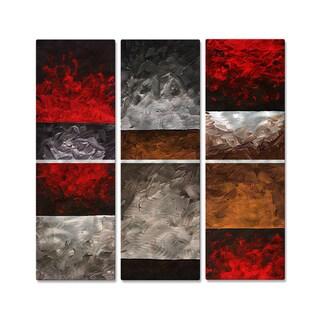 Megan Duncanson 'Shadowed Thoughts' Metal Wall Decor