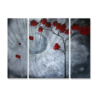 Megan Duncanson 'Far Side of the Moon' Metal Art