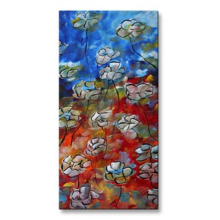 Megan Duncanson 'Floating Poppies' Wall Sculpture