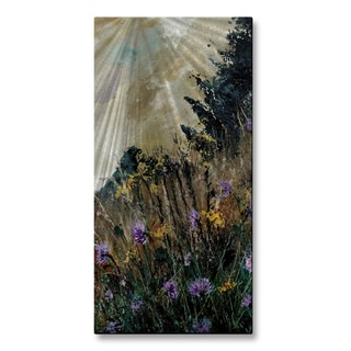 Pol Ledent 'Hidden Flowers' Wall Sculpture