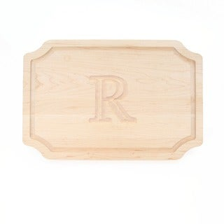 Monogrammed Maple Cutting Board (More options available)