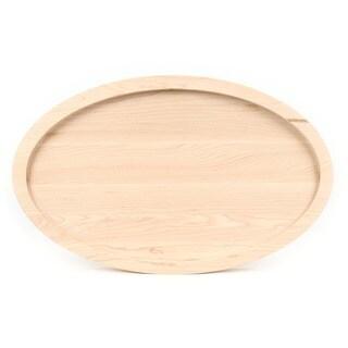 Bigwood Boards Monogrammed Oval Maple Cutting Board