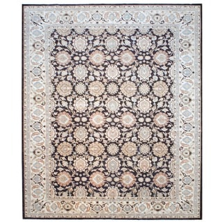 Herat Oriental Afghan Hand-knotted Vegetable-dyed Wool Rug (12' x 14'6)