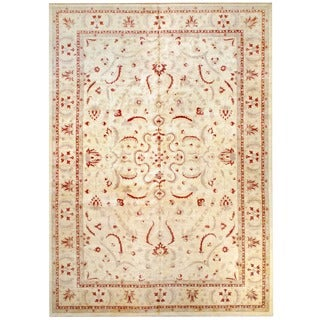 Herat Oriental Afghan Hand-knotted Vegetable-dyed Wool Rug (11'8 x 16'7)