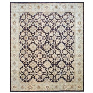 Herat Oriental Afghan Hand-knotted Vegetable-dyed Wool Rug (12' x 14'2)