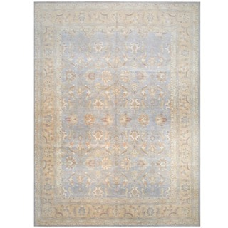 Herat Oriental Afghan Hand-knotted Vegetable-dyed Wool Area Rug (13' x 17'5)